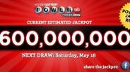 $590 million lottery jackpot won