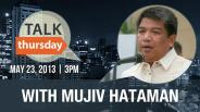 #TalkThursday with Mujiv Hataman
