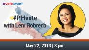 #PHvote with Leni Robredo