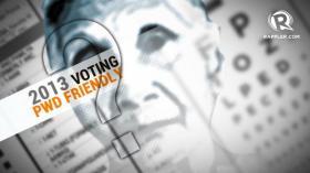 Were the 2013 polls PWD-friendly?