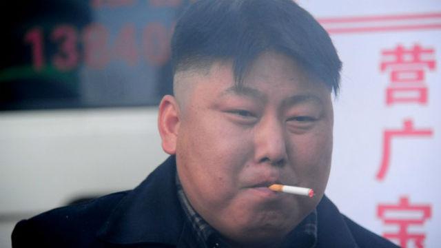 Kim Jong Un Lookalike Sizzles In China