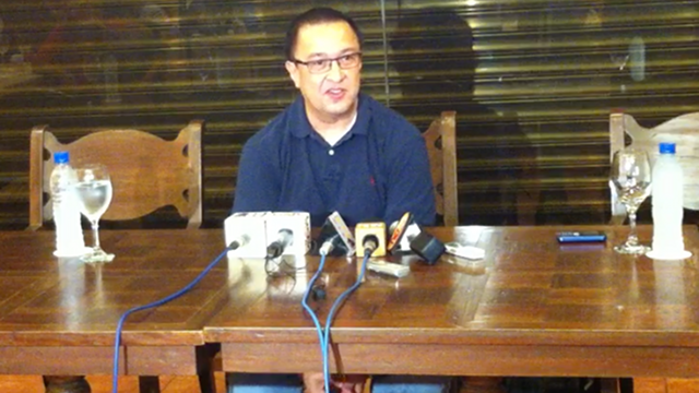 GETTING TO KNOW JACK: In March 2012, Rep Enrile called House reporters to a press conference in Splendido, Tagaytay City