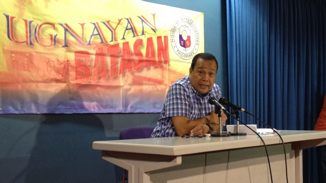 AWKWARD: House majority floor leader Boyet Gonzales says the proposed LP-UNA coalition is awkward because LP has already forged a coalitin with NP, NPC