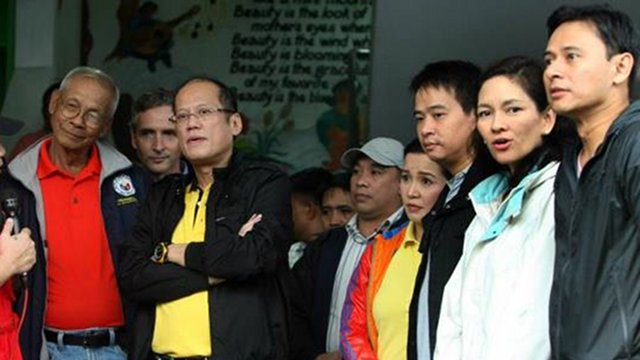 PNOY'S ANOINTED: In the past months, President Aquino has been going around with rumored senatorial candidates