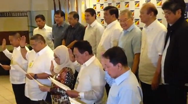 5 ARMM Governors join LP