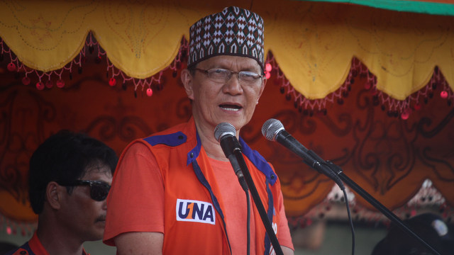 TIGHT RACE. Sultan Kudarat Mayor Tucao Mastura is running against incumbent Gov Toto Mangudadatu for governor of Maguindanao. File photo by Karlos Manlupig