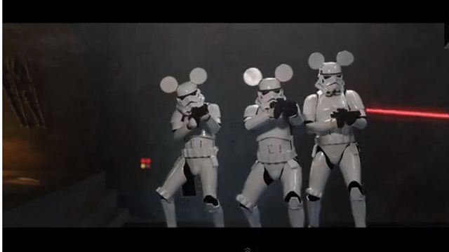 Video Star Wars Mickey Mouse Edition