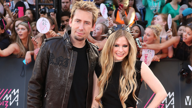 6fe4048d7f62b Avril Lavigne and Chad Kroeger at the 2013 MuchMusic Video Awards