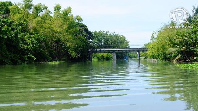 MESTIZO RIVER. This river winds through Vigan's history