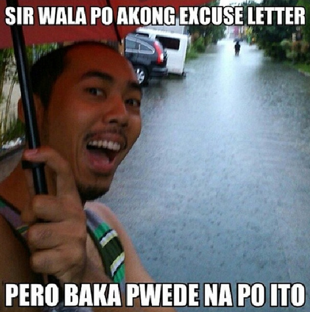 Funny Meme Questions Tagalog : Pinoy humor habagat and maring