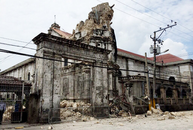 heartbreaking 10 iconic churches in bohol cebu damaged
