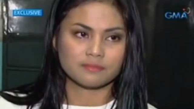 31358ceab7 ROXANNE ACOSTA. The former beauty pageant contestant speaks up. Screengrab  from YouTube (GMA