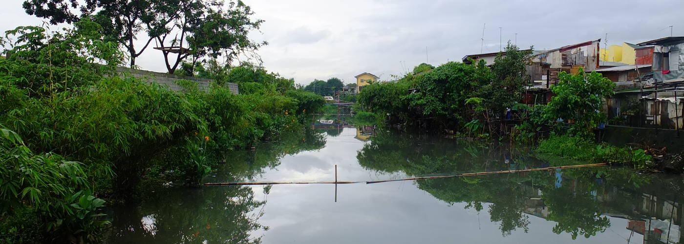 Taytay creek is water rehab model for Southeast Asia