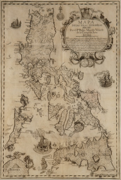 Spanish Philippines Map.Ancient Maps Support Ph Claim Over Scarborough