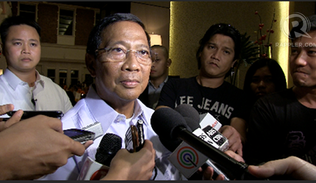 DESIRE ENDED. Vice President Jejomar Binay condemns the murder of a Makati City engineer who served during his term and who had wanted to run for mayor. Binay's camp believes the killing is politically motivated. File photo