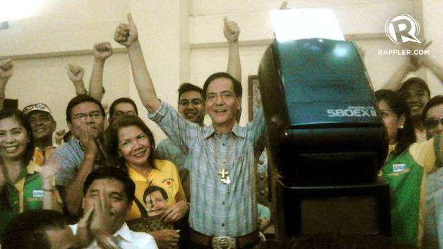 PROCLAIMED. Mike Rama is Cebu City's new chief executive. Renante Tomas/Rappler