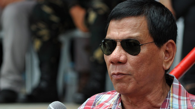 Duterte in tears after visiting Tacloban