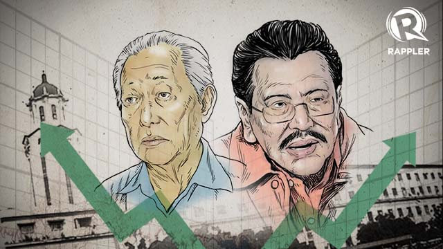 SURVEY SAYS? Both camps of mayoral bets Alfredo Lim and Joseph Estrada claim they have the numbers in winning the local polls.