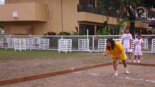 SMART SPORT. Bocce veteran Judel helps their team win against Zamboanga. Julienne Joven.