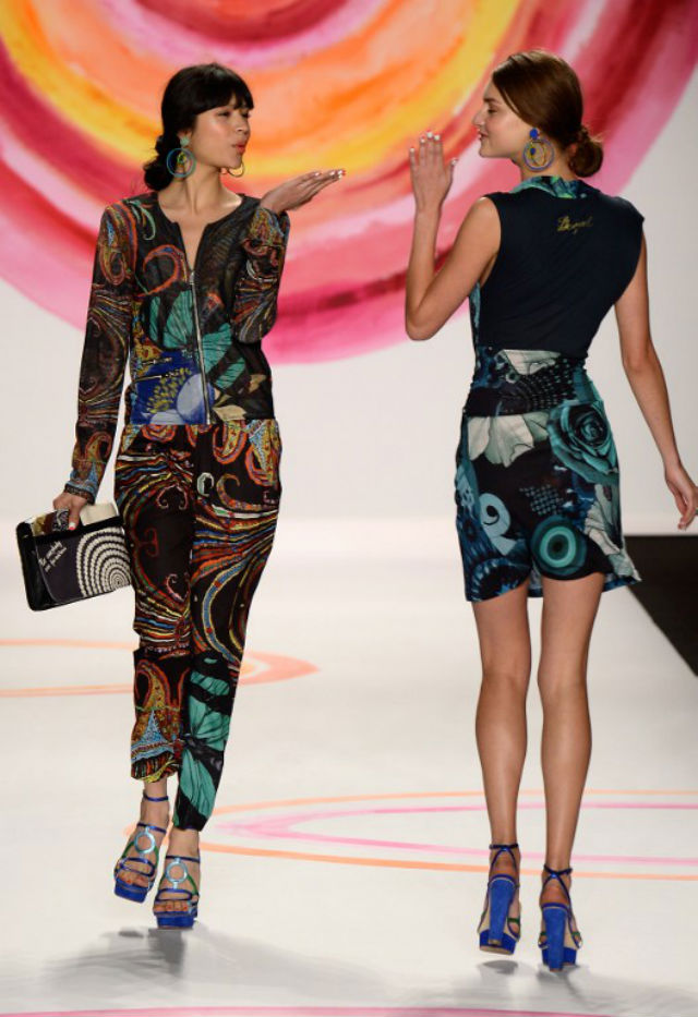 Life and Style wRap: Desigual at NY fashion week, sold-out ...