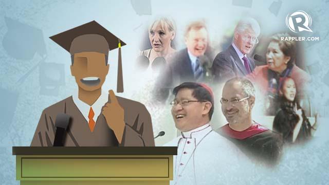 Words of wisdom: 7 memorable grad speeches