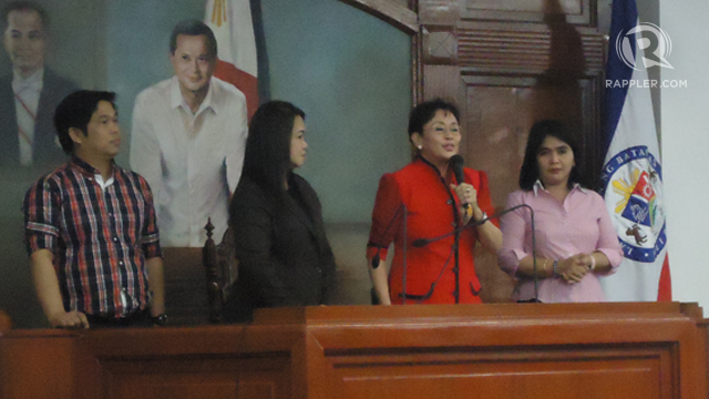 WINNER. Vilma Santos-Recto wins her 3rd re-election bid as governor of Batangas. Josa Salazar/Rappler