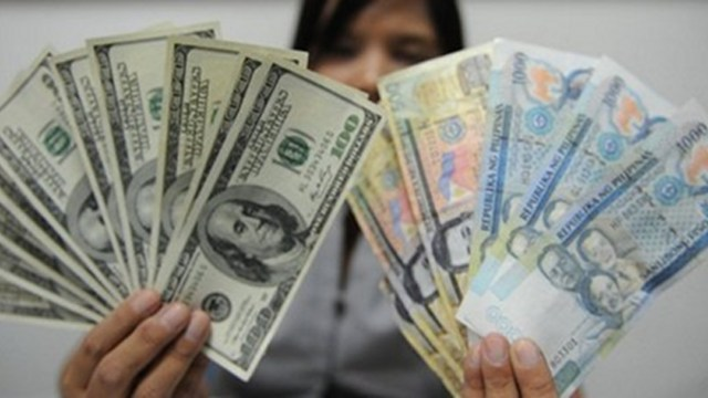 Stronger Peso The Local Currency Has Been Reciating Against Dollar Graph Shows Average