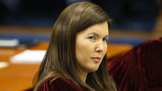 GETTING ELECTED. Sen Pia Cayetano gained popularity after a television show associated her with her late father. (FILE PHOTO)