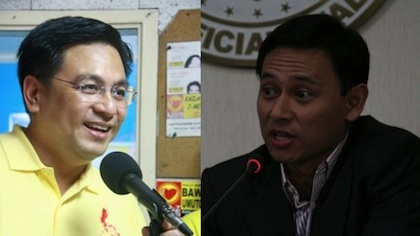 STILL UNSURE. Customs Commissioner Ruffy Biazon and Aurora Rep Sonny Angara are still uncertain about running for the Senate in 2013.