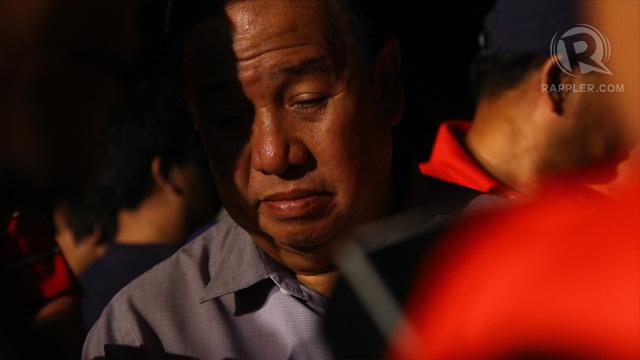 Gordon after the debates. Photo by Raymund Amonoy.