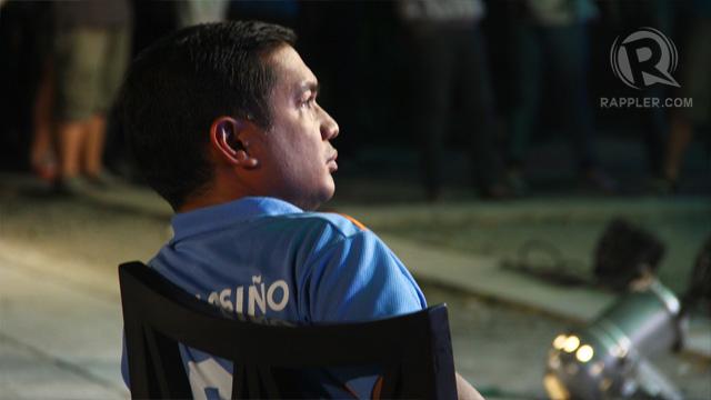 Teddy Casiño waiting his turn at the Rappler Debates. Photo by Raymund Amonoy