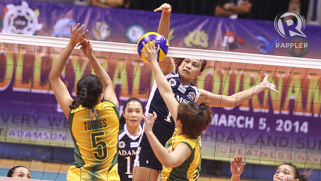 UAAP Volleyball: Pineda powers Adamson past FEU to take fourth spot