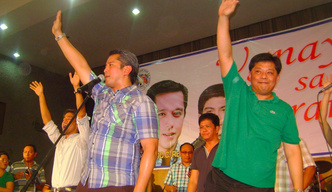 LOCAL KINGPINS. Estradas, Binays, UNA candidates count on personal ties with the Remullas