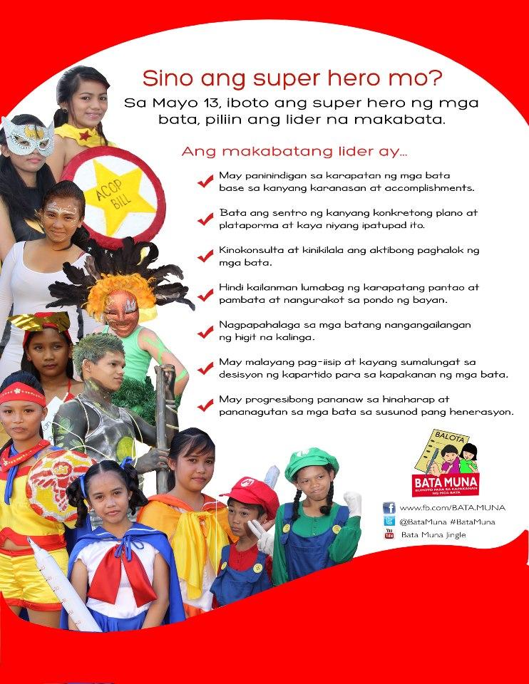 bata muna children tell candidates