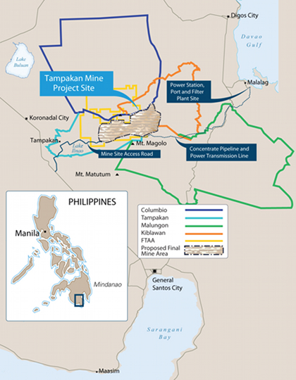 Sagittarius Mines moves start of Tampakan operations to 2018