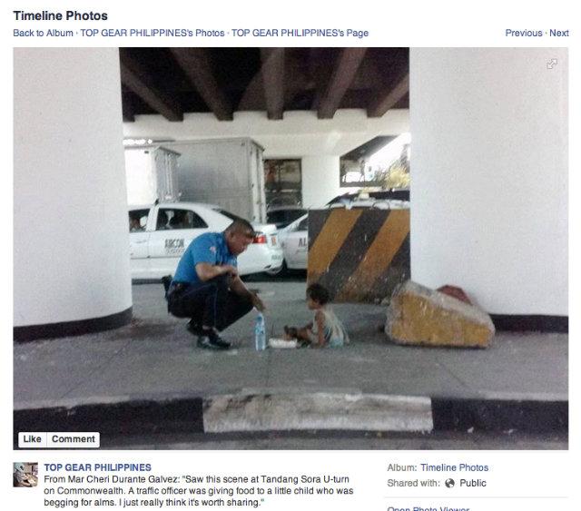 Viral Fake News Screenshot Montage: For Good Deed Gone Viral, Traffic Aide Gets Award