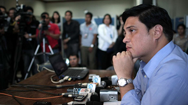 OFFICIAL CANDIDATE. Despite Sen Pimentel's objection, resigned Sen Juan Miguel Zubiri is now an official senatorial bet of the United Nationalist Alliance. File photo from Senate website.