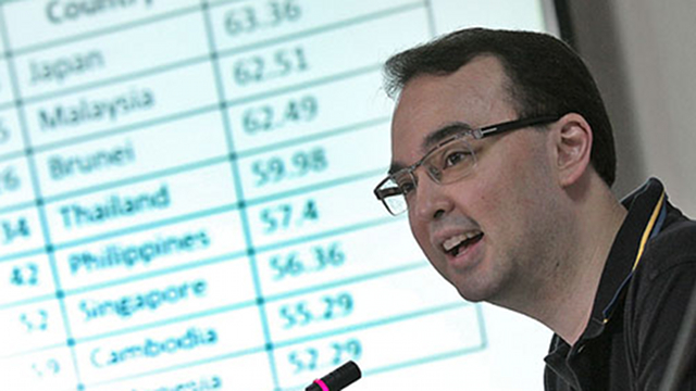 THE CRITIC. Senator Alan Peter Cayetano has been critical of the Aquino administration, former President Arroyo and Comelec officials. File photo by Joseph Vidal, Senate PRIB