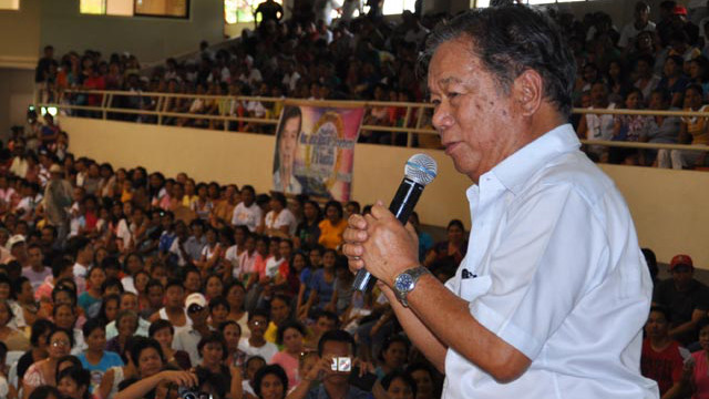 COMELEC CONTROL. Negros Occidental Governor Alfredo Maranon Jr. requests that the province be placed under the poll body's watch. Photo from http://negros-occ.gov.ph