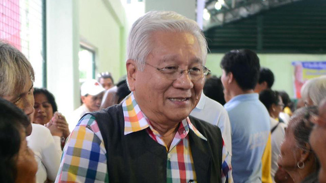 MALACAÑANG'S BET. Allegations of corruption have hounded former Cavite governor Ayong Maliksi, the biggest being the handling of the funds for the LRT extension project.