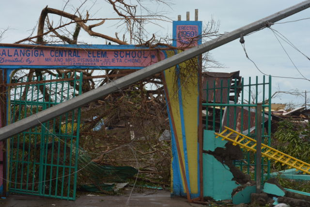 Neglected Balangiga cries for help after Haiyan