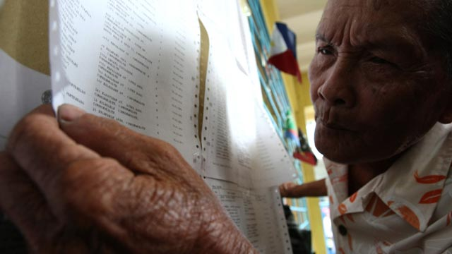 ACCESSIBILITY. Select PWDs and senior citizens can go to select SM malls to cast their vote for the barangay elections. Photo by EPA/Val Handumon