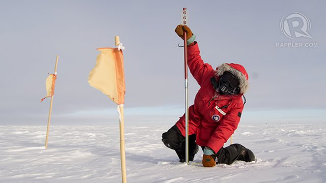 A Filipino In Antarctica Cold Continent Hot Science