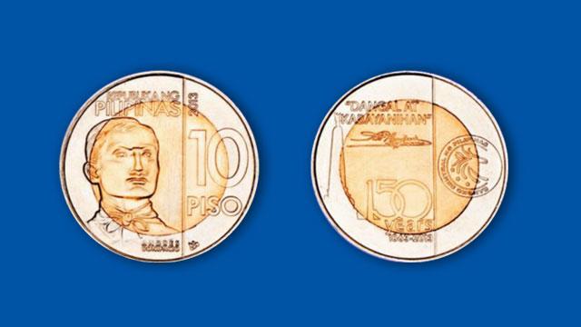 BSP Issues Commemorative P10 Bonifacio Coins