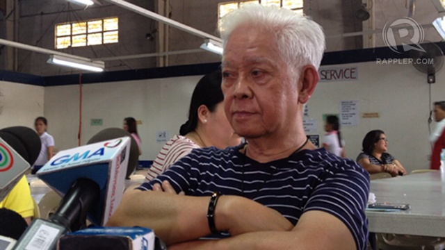 'COMPROMISE DECISION.' Comelec chair Sixto Brillantes Jr says challenges remain after the SC's party-list ruling. Photo by Rappler/Paterno Esmaquel II