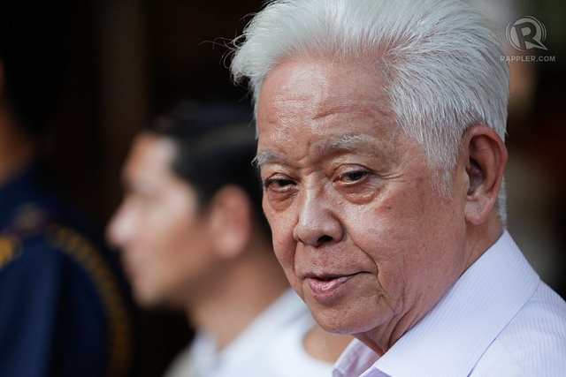 RESIGNING SOON? Comelec chair Sixto Brillantes Jr says he may step down after the SC's series of rulings vs Comelec. File photo by John Javellana