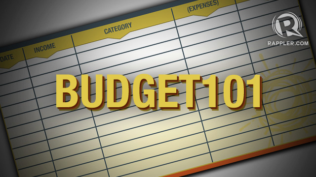Creating a monthly budget