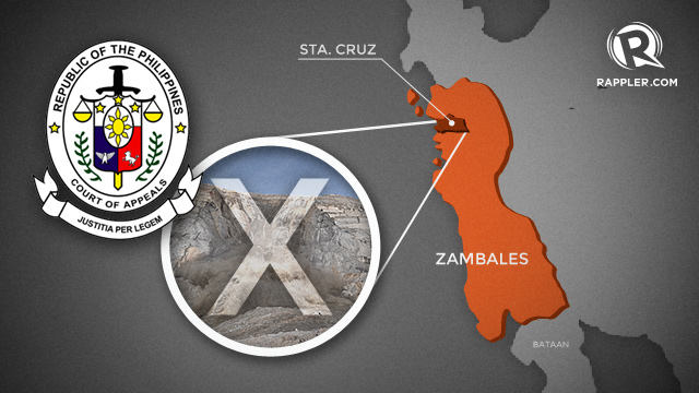 CA stops mining firm from leveling Zambales mountain