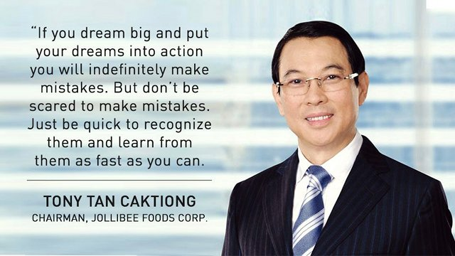 Image result for Jollibee Tony Tan Caktiong
