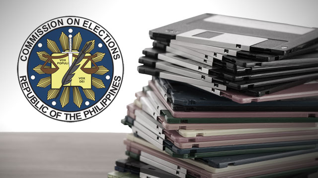 STORAGE SPACE. The Comelec is looking into an alternative means of transmitting results, such as storage devices.